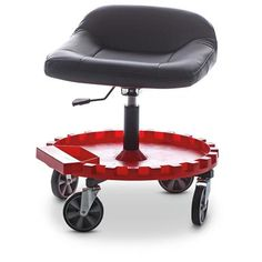 TraXion Monster Rolling Seat With Gear Tray