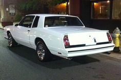 My Chevy Monte Carlo SS.