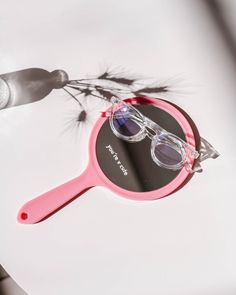 Quirky and flirty, the Brisbane frame will transcend seaons and trends. Featuring a round, clear frame, the design brings a warm and feminine allure to your everyday look. Everyday Look, Brisbane, Eyewear, Feminine, Trends, Warm, Sunglasses, Blue, Design