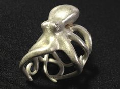 Octopus Ring 17mm by sigma6289'