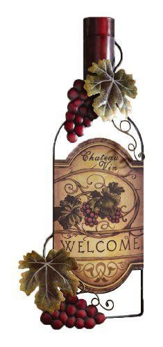 Wine Decor Wall Art vino word home kitchen decor metal wall artsayitallonthewall