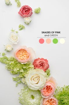 10 Wedding Color Pal