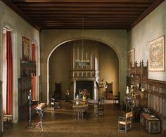"""Thorne Miniature Rooms - Art Institute of Chicago - French Hall of the Louis XII Period, c. 1500 (Scale 1""""=1')"""