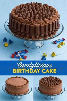 I've been craving chocolate something terrible lately and my mouth started watering immediately when I saw this amazing chocolate covered birthday cake! I spotted it on Pinterest and wasn&#82…