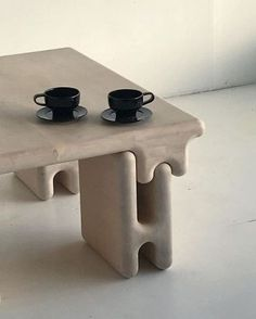 Mesa coffee table by . My Furniture, Industrial Furniture, Furniture Design, Retro Furniture, Classic Furniture, Pallet Furniture, Ceramic Furniture, Furniture Cleaning, Modular Furniture