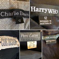 Vintage fashion labels Vintage Labels, Fashion Labels, Vintage Fashion, Cards Against Humanity, Vintage Tags, Fashion Vintage, Preppy Fashion