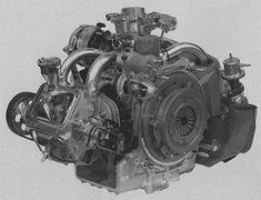Citroën GS + GSA boxer engine Engineering, Cars, Autos, Citroen 3cv, Motors, Engine, Projects, Vehicles, Automobile