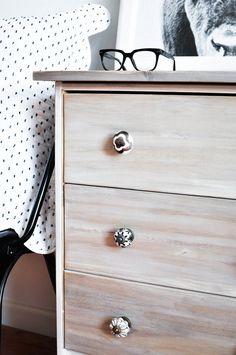 Ikea Rast Hack - Stained & Whitewashed