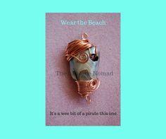 The Pirate - Abalone Pendant