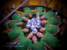 I was trying to get a photograph for an invitation promoting Women's Volleyball
