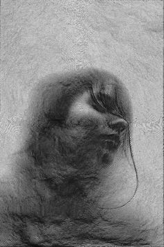 Fingerprint-like Portraits Created with a Single Spiraling Line - My Modern Metropolis  www.artistwebsitepro.com Loves it...