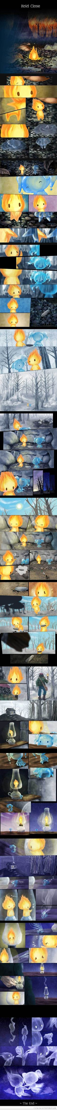 Fire and Water, such a cute story