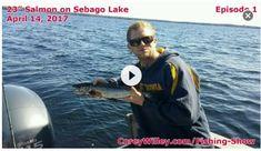 Best Salmon Fishing Sebago Lake | Lake Trout Sebago Lake Maine | Corey Willey YouTube Fishing Shows https://www.youtube.com/watch?v=zqJfU0yK6Ho&t=15s
