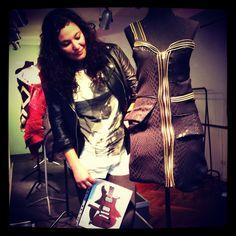 Diseño de indumentaria Vision couture Alumna Eamoda Celia Portillo
