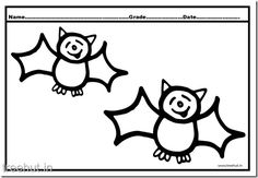bat coloring pages 4 - Coloring Pictures Of Bats