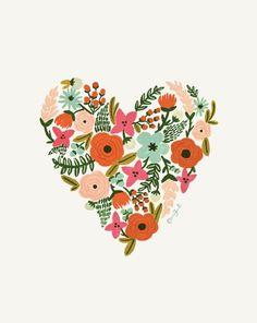 corazón florido!! (sano)
