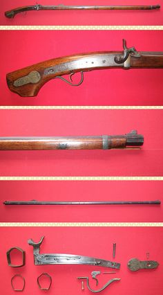 Japanese matchlock converted to percussion, overall length:1299mm, barrel length:1002mm, weight:3190g.