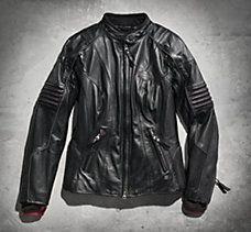 Ava RCS Leather Jacket