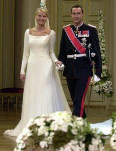 Hace 10 años contraían matrimonio el príncipe Haakon de Noruega y Mette-Marit