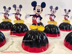 Gelatinas de Mickey Mouse