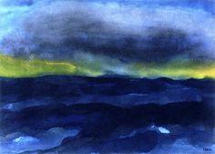 bofransson: Seascape Emile Nolde