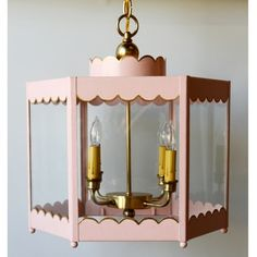 Scalloped Lantern - would love this in a little girl's room