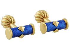 Tiffany & Co. Schlumberger Cufflinks in 18K from Beladora.com