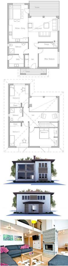 152 m² - 4 chambres - 1 étage