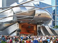 Chicago Summer Film  at Millennium Park