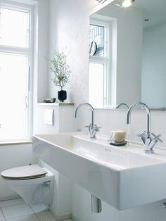 Im Bad ist eine saubere Toilette das Wichtigste
