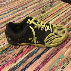 Men's Reebok CrossFit Nanos 4.0 Used but lots of WODs left for these shoes! No trades. Reebok Shoes Athletic Shoes