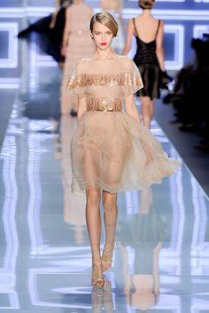 Défilé Dior Prêt a Porter printemps-été 2012 à Paris