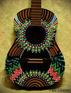 Guitar art    www.flickr.com/siberianita: