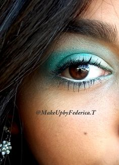 make up verde   @makeUpbyFedericaT
