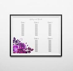Printable Wedding Seating Sign  Glamorous Gold  Seating Charts