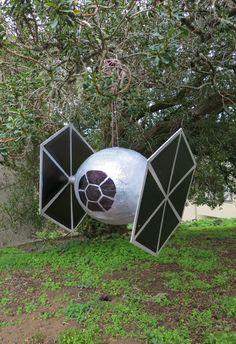Star Wars Day Crafts: TIE Fighter Piñata | StarWars.com