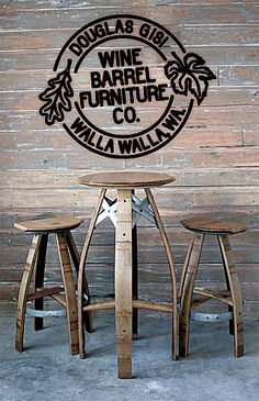 wine barrel furniture | Douglas Gisi Wine Barrel Furniture Co. in Touchet, WA - YellowBot