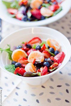 Citrus and Berries Salad