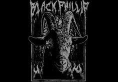 The Witch Black Phillip tee by bewarethehorrordesigns