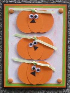 Halloween Punch card.... easy... even for kids