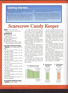 Scarecrow Candy Keeper 2/3