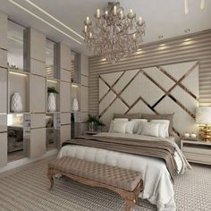 87 extraordinary and inspiring home bedroom interior design for decoration 83 Home, Home Bedroom, Luxurious Bedrooms, Cheap Home Decor, House Interior, Modern Bedroom, Home Interior Design, Interior Design, Luxury Bedroom Master