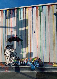 Cool Street Art In California. Art. Graffiti.