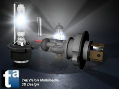 491 - #3D TAEVision #mechanical #design #Lighting #bulbs #Xenon HID #LightingBulbs #Parts #AutoParts #Aftermarket
