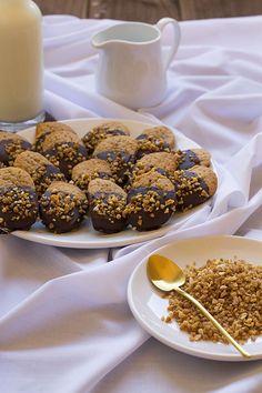 Galletas de jengibre con chocolate. Recetas para navidad | Cocinando en un rincón del mundo