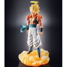 Dbz Figurine Gashapon Capsule Megahouse Neo Dragon Ball Z Part 24 Super Saiyan Gogeta 10cm