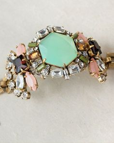 Heritage Bracelet in Mint