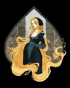 Rapunzel by AbigailLarson on DeviantArt