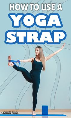 Aug 2019 - A yoga strap can be a very handy tool for advancing your yoga practice as a beginner. Here are 18 yoga stretches to use with a yoga strap! Pranayama, Yoga Gurt, Yoga Routine For Beginners, Yoga Props, Yoga Strap, Yoga Positions, Yoga For Flexibility, Types Of Yoga, Iyengar Yoga