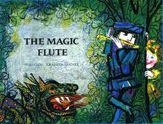 """The Magic Flute"", Wolfgang Amadeus Mozart-Emanuelle Luzzati, Scroll Press, 1973 Used Books, My Books, Estas Tonne, Tom Y Jerry, Amadeus Mozart, The Magic Flute, Vintage Children's Books, Children's Book Illustration, Childrens Books"